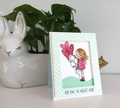 Such an Adorable card by Kathy Racoosin using Brand New Simon Says Stamp Exclusives.