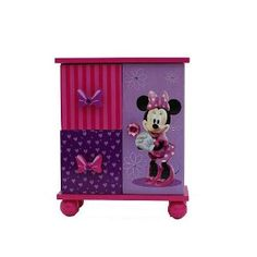 Minnie Mouse Bedroom Decor | Amazon.com: Minnie Mouse Jewelry Boutique: Home & Kitchen