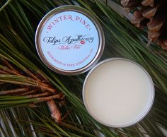 Top Gift for Christmas https://www.etsy.com/listing/169246186/scotch-pine-lip-balm-tin-with-essential?ref=shop_home_active