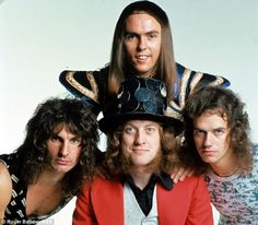 Superstars: Slade sold 50 million records, made 20 albums and had six Number Ones, includi...