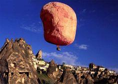 Kaart: Luchtballon - Boomerang