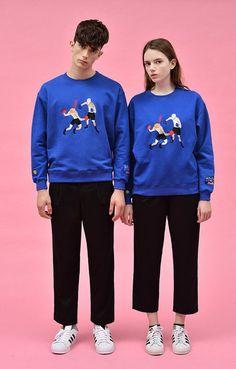 Boxing Pullover Sweatshirt