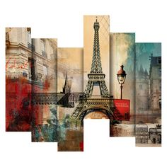 Have to have it. 100 Essentials 3D Paris 1 French Trip Painting