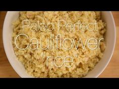 Yes, you can use cauliflower to make rice! Looking to swap your grains for veggies, but don't want to miss out on all that flavor? Well look no further becau...