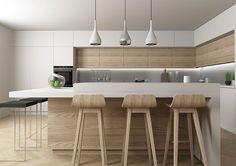 suspensions cuisine minimaliste