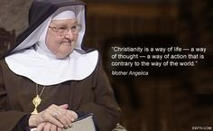 #MondayMotivation #MotherAngelica #EWTN