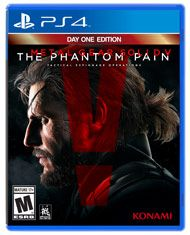 Konami Digital Entertainment continues forth the METAL GEAR SOLID V Experience' with the latest chapter, METAL GEAR SOLID V: The Phantom Pain.  Ushering in a new era for the franchise with cutting-edge technology powered by the Fox Engine, MGSV: The Phantom Pain, will provide players a first-rate gaming experience as they are offered tactical freedom to carry out open-world missions.