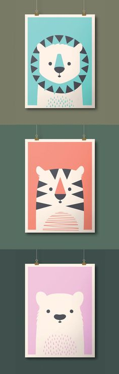 Imaginary Beast: Lions, Tigers, and Bear Prints! (oh my!) #Design