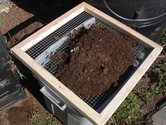 This is an instructable for how to build a simple compost screen out of redwood and hardware cloth that can be used to sift foreign objects out of your compost or potting soil. It takes about 15 minutes to assemble and can weather the elements outside.