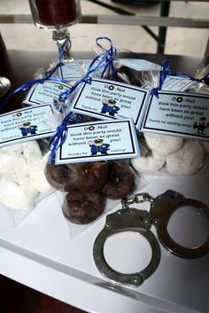 Cops & Robbers Party Favor