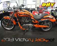 2013 Victory Jackpot - feeling lucky? You can save $2,000 on this or any other new Victory Motorcycle at DHY until 1/31/13.