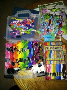 Legit. I need a setup like this for next summer. #camp craft supplies http://www.ecrafty.com/c-81-craft-supplies.aspx
