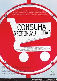 """29-30 de septiembre inexsos en el CEA Cuacos de Yuste con el curso """"#ConsumaResponsabilidad"""" ¿Te apuntas?"""
