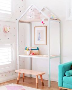 super cute girls bedroom!