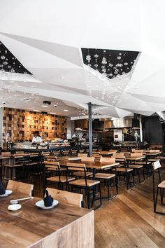 Blue Ocean #Sushi #Bar #restaurant #interior #design #diseño de interiores