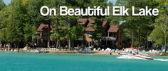 White Birch Lodge is an all inclusive family resort on Elk Lake in Elk Rapids, Northern Michigan