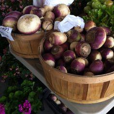 Turnips - march piedmont triad farmers market Greensboro NC