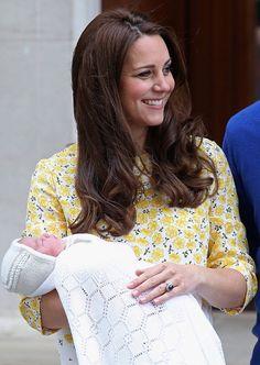 Princess Kate and Baby Girl 5-2-15 <3 <3