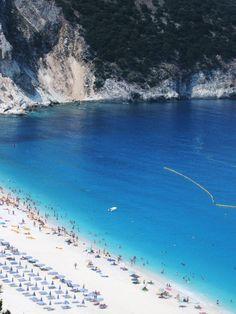 Myrtos Beach, Kefelonia, Greece. Was just stunning. I think of it often.... I miss it!!