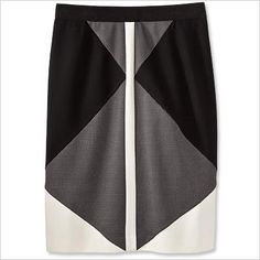Graphic Black & White - Ann Taylor from #InStyle