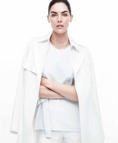 Hilary Rhoda by Daniel Jackson for Harper's Bazaar US April 2014