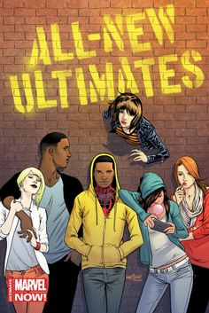 Marvel Reinvents The Ultimate Universe As All-New Ultimates, Miles Morales: Ultimate Spider-Man And Ultimate FF