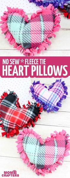 These valentine pillows are so easy to make! They use the classic summer camp fleece tie pillows method and are the perfect Valentine's Day crafts for tweens and big kids. day crafts for girls Valentine Pillows - No Sew Fleece Tie Heart Pillows Quotes Valentines Day, Funny Valentine, Valentines Diy, Valentine Pillow, Printable Valentine, Valentine Wreath, Valentine's Day Crafts For Kids, Valentine Crafts For Kids, Kids Diy