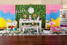 guloseimas para festa Alice no Pais das Maravilhas - Google Search