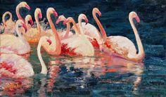 flamingo ballet | alan wolton