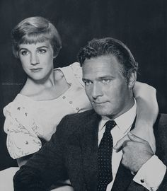 """""""working with Julie Andrews is like getting hit over the head with a valentine.""""  ~ Christopher Plummer"""