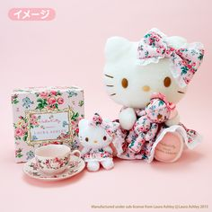 Hello Kitty meets LAURA ASHLEY
