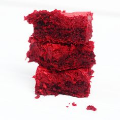 Oooey Gooey Red Velvet Chess Squares. The bottom layer of these red velvet chess squares is somewhat similar to that of a brownie but the top layer of butter and cream cheese is what qualifies them to carry their title.  These squares are really easy to make and would be perfect to take to a Christmas or holiday get together.  Or if you're like me and have a slight obsession with red velvet recipes then you can make them all year long!  Warning: These bars are very rich and extremely…