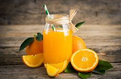 Home Remedies For Dry Mouth - Orange Juice Carrot And Ginger, Ginger And Honey, Best Fruit Juice, Juice For Skin, Citrus Trees, Juice Fast, Best Fruits, Foods To Eat, Orange Juice