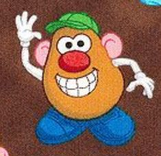Mr. potato head painted rock idea