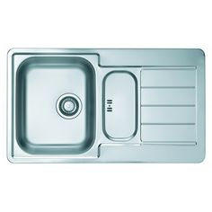 CHIUVETA DE BUCATARIE ALVEUS COLECTIA LINE MAXIM 30 F ,MONTAJ LA NIVELUL BLATULUI DIN INOX,SIFON POP-UP - Iak Pop Up, Sink, Tray, Container, Kitchen, Home Decor, Sink Tops, Vessel Sink, Cooking