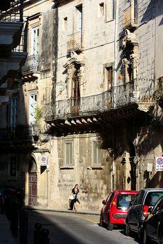 Ortigia, Casco Antiguo de Siracusa, Sicilia, Italia.