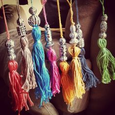 DIY decor tassels