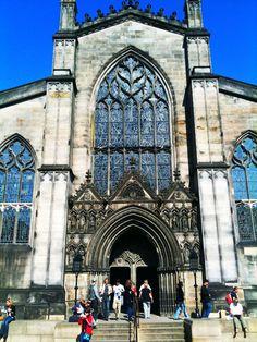 St Giles Cathedral. Royal Mile. Edinburgh, Scotland