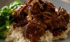 Indonesian pork stew with pork shoulder and ginger  on The Hairy Bikers' Comfort Food