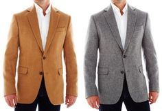 JC Penney Stafford Camel Hair Sportcoat | Best Affordable Blazers & Sportcoats – Fall 2015 on Dappered.com