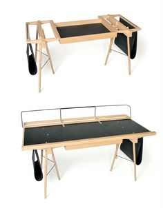 """""""Homeworkers"""" can customize this clever desk : TreeHugger"""