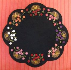 wool applique | Wool/Felt Spring/Easter Patterns- Erica's Craft & Sewing Center