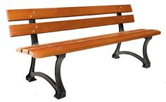 Banc public en bois vernis - Code produit: 6970595 - Cliquez sur la photo pour voir la fiche produit