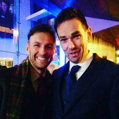 Steven Cree & Duncan LaCroix at the BAFTA Scotland Awards