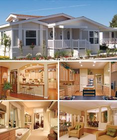 Mobile prefab manufactured homes on pinterest clayton Home interior pictures for sale