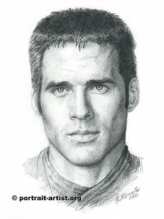 This shows a cross hatching technique to draw a face.  No smudging here.
