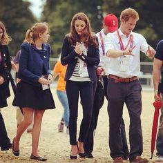 Spotted: Princesa Beatrice usando Pretty Ballerinas durante os Jogos Olimpicos de Londres 2012