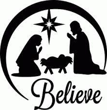 nativity silloette - Google Search
