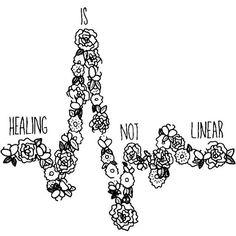Healing is not linear by brockam1   Journals, Planners ...