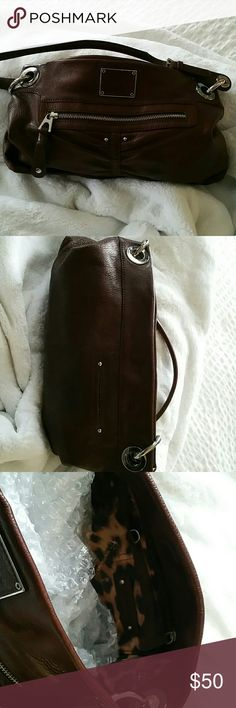 Handbag Brown leather brand new B  makowsky Bags Satchels